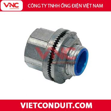 Đầu nối ống thép luồn dây điện với hộp điện - Đầu nối kín nước