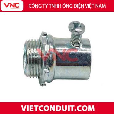 Đầu nối ống thép luồn dây điện trơn Vietconduit