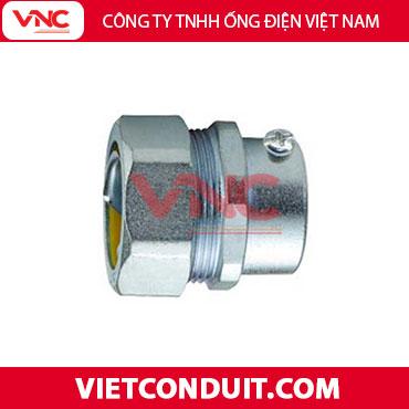 Đầu nối ống ruột gà lõi thép kín nước với ống luồn dây điện trơn