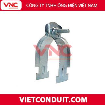 Kẹp treo ống thép luồn dây điện và thanh Unistrut (C Channel)