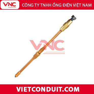 Cọc tiếp địa thép mạ đồng Vietconduit