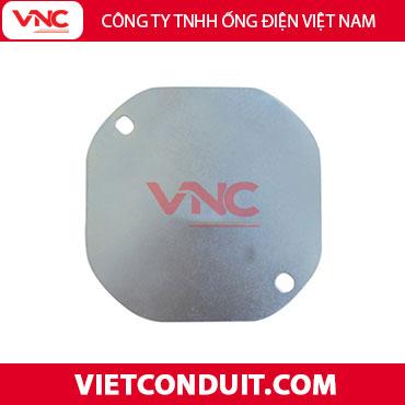 Nắp hộp bát giác bằng sắt âm tường Vietconduit