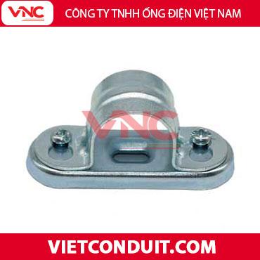 Kẹp treo ống inox luồn dây điện có đế Vietconduit